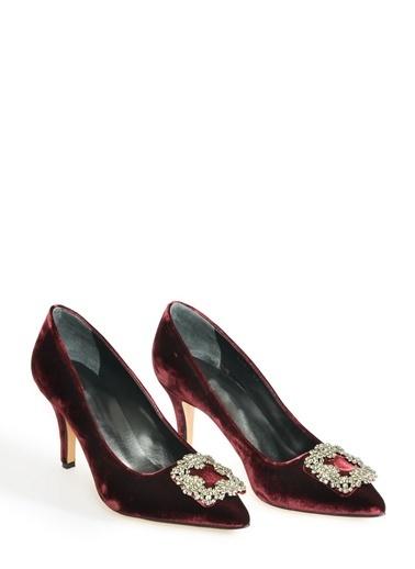 Girl Boss Ayakkabı Bordo